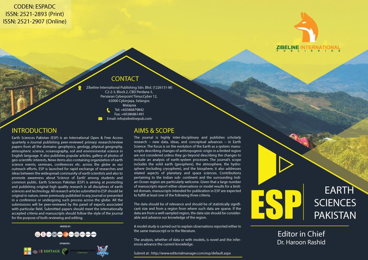 ARCHIVES – Earth Sciences Pakistan (ESP)